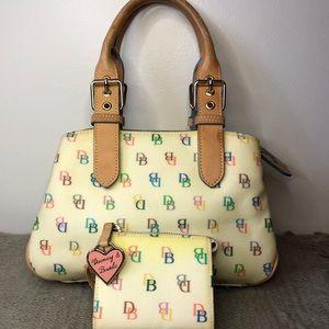 Dooney and Bourke Vintage Handbag and Wallet
